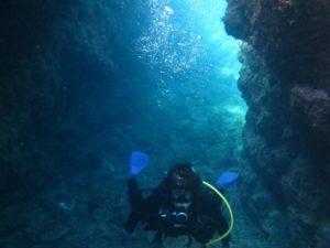 青の洞窟,