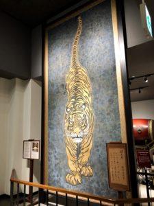 小倉城,迎え虎,